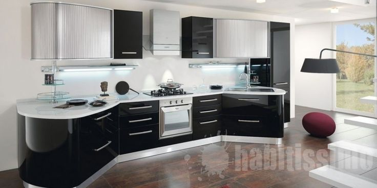 Dise o de cocinas modernas 2012 dise o de cocinas - Cocina moderna pequena ...