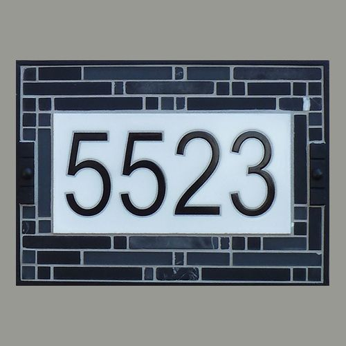 24 best images about address plaques on pinterest shops for Classic house number plaque
