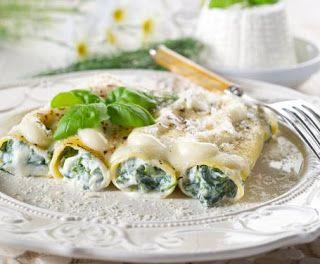 Denny Chef Blog: Cannelloni con spinaci