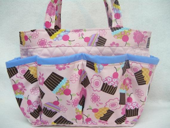 Breast cancer awareness   bingo bag Large/great by sewtrendyrose, $20.00