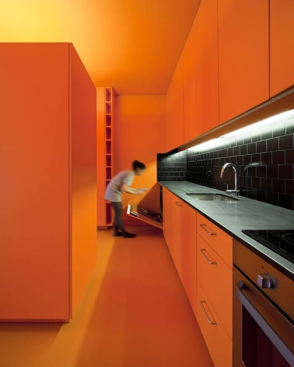 49 best orange kitchen images on pinterest