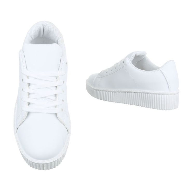 14,99 € - Klassische Damen Sneaker im schlichten Design. Das Obermaterial besteht aus geschmeidigem und strapazierfähigem Kunstleder.