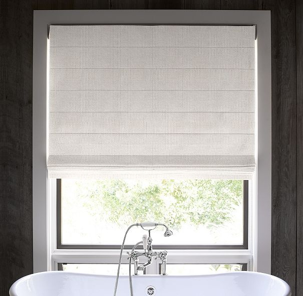 1000 images about new house window treatments on for Restoration hardware window shades