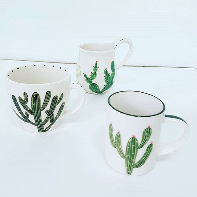 Cactus by @j_ceramic_cafe