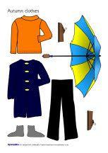 Dress the children for the seasons (SB1258) - SparkleBox