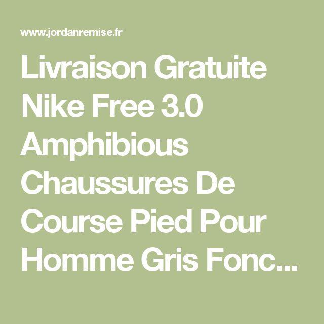 Livraison Gratuite Nike Free 3.0 Amphibious Chaussures De Course Pied Pour Homme Gris Foncé/Orange/Blanc, Prix : $84,57 - Remise Chaussures Originales - JordanRemise.fr