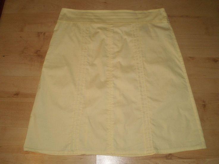 New Look Beautiful Yellow Skirt, Size 14