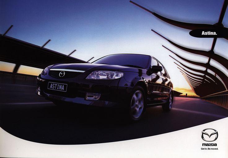 https://flic.kr/p/FaSxqE | Mazda Astina; 2001_1  (Australia) | front cover car brochure by worldtravellib World Travel library