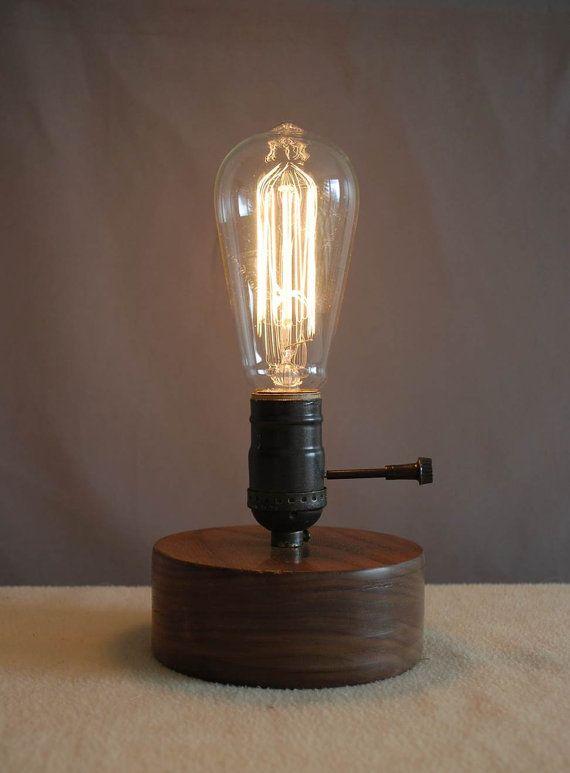 Lampe Edison, Edison lumière, lampe Antique, Antique liseuse