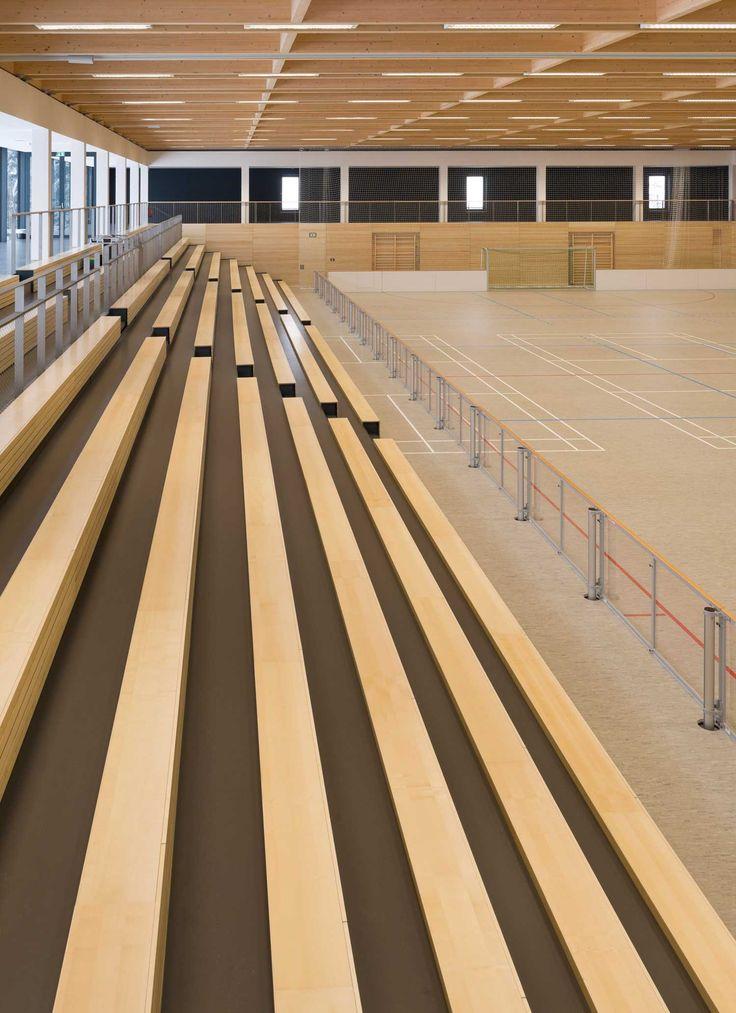 18 besten sporthalle bilder auf pinterest architekten for Innenarchitektur studium bremen