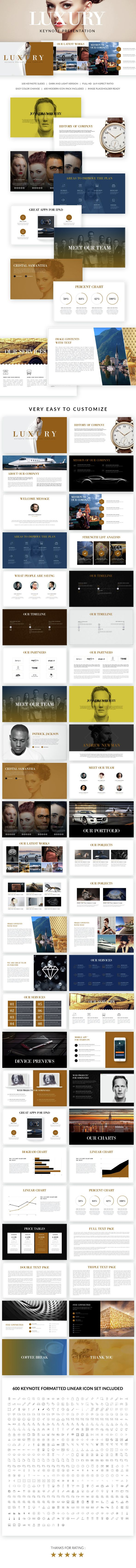 Luxury Keynote Presentation Template. Download here: http://graphicriver.net/item/luxury-keynote-presentation-template/15218825?ref=ksioks