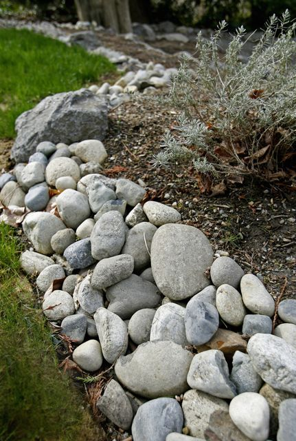 Stone  edging