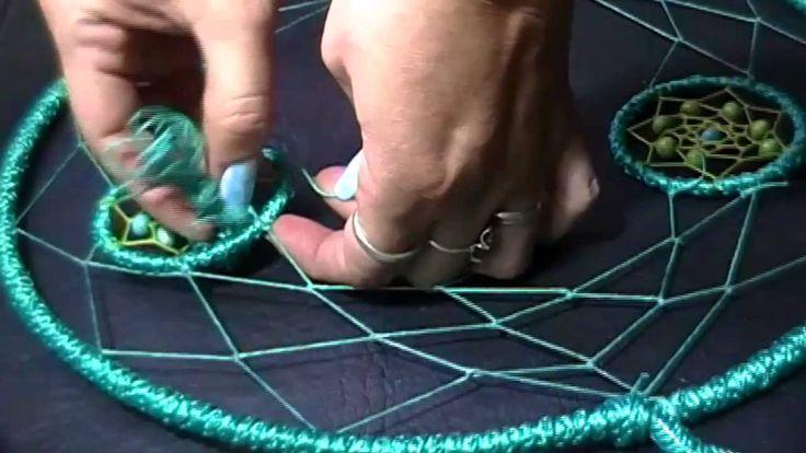 Como hacer un Atrapasueños atrapado//DIY Dreamcatcher