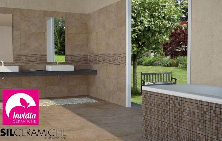 Il cemento proposto in versione elegante e al tempo stesso moderno.  Gres porcellanato rettificato colorato in massa