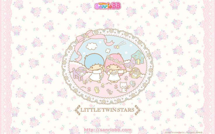 Little Twin Stars Wallpaper 2013 三月桌布 日本 SanrioBB Present