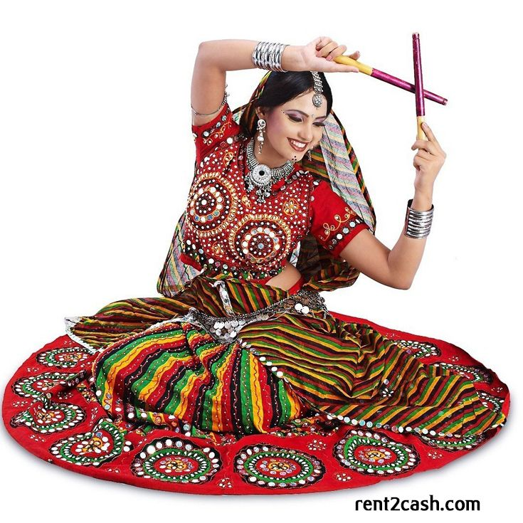 At this coming Navratri, start preparing for Garba and choose the best garba dress on rent from Rent2cash. The moment of Navratri could be unforgettable if your outfit is best than others.