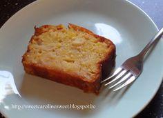 Suikervrije appelcake met stevia - Sugarfree applecake with stevia