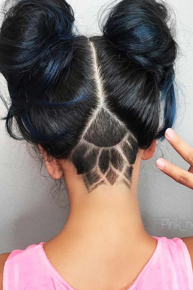 21 Awesome Ideas With An Undercut For Daring Women Undercut Long Hair Female Undercut Long Hair Hair Styles