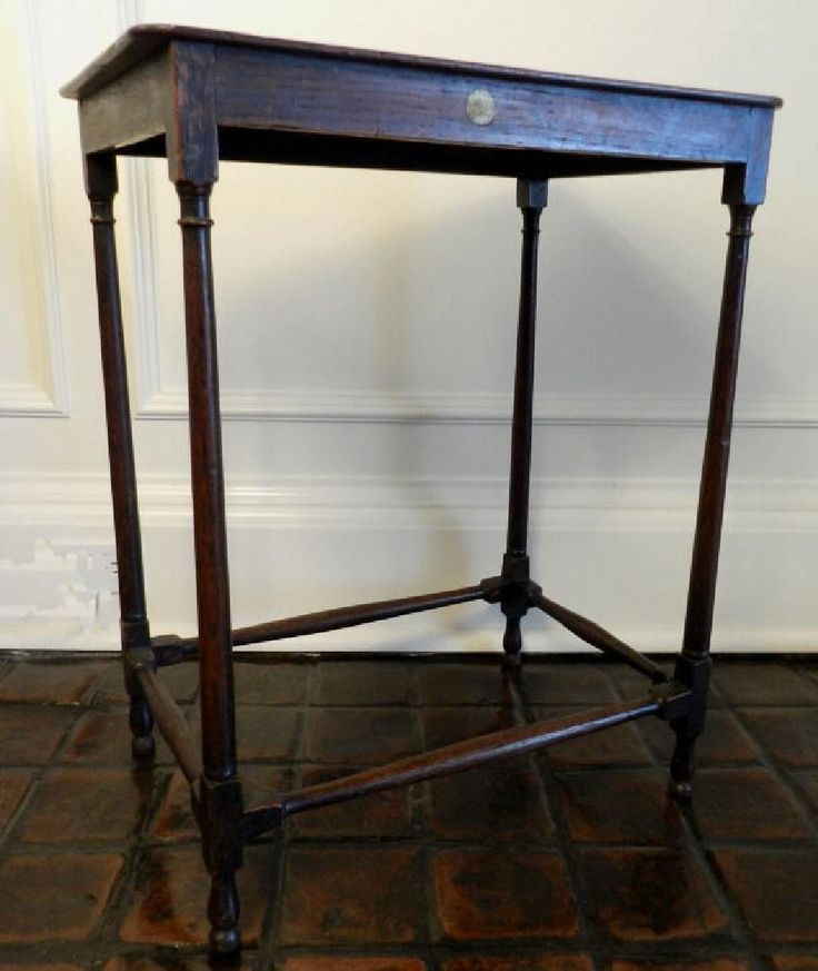 Lot: George III Mahogany Rectangular Table, Lot Number: 0379, Starting Bid:  · Vintage FurnitureClevelandAuctionDates