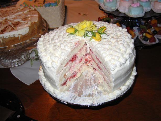 Diabetic Spring Fling Layered White Cake Recipe Sugar free