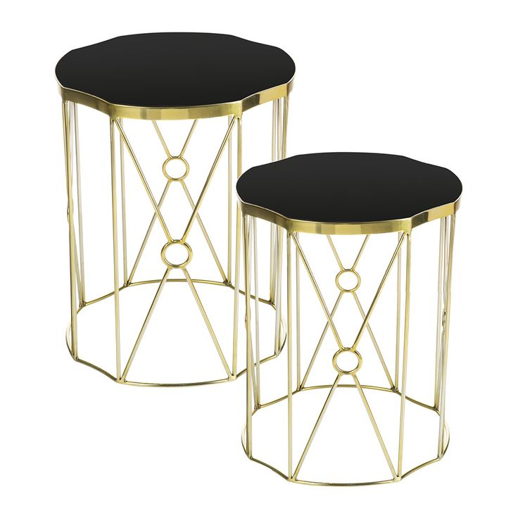 Discover The Amara Grasse Side Tables   Set Of 2 At Amara. Contemporary End  TablesContemporary FurnitureModern ContemporaryMetallic ...