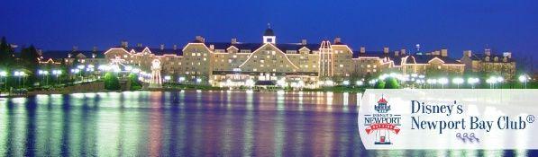 Disney's Newport Bay Club - Disneyland Parijs - MagischeNachten.nl