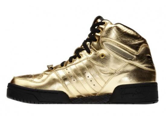 Jeremy Scott adidas Originals Gold JS Wings 2011 Spring