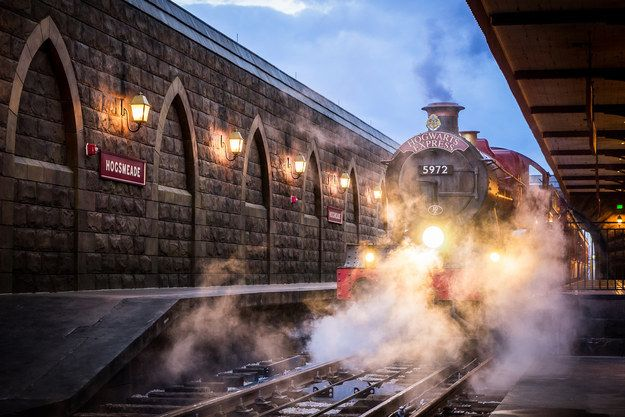Try going to Hogsmeade first and then take the Hogwarts Express to Diagon Alley later in the day.   29 Tips To Make Your Day Magical At The Wizarding World Of Harry Potter