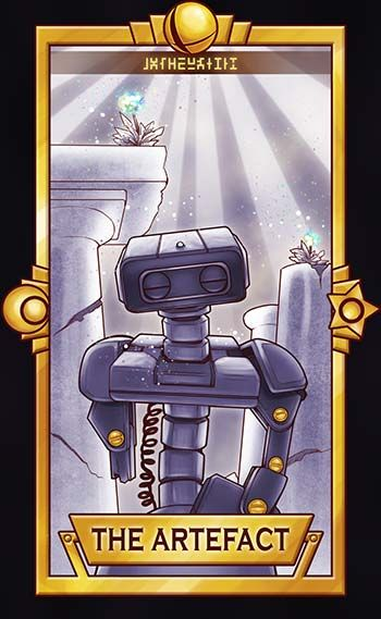 That old toy robot, a little broken, still beautiful from days long passed. Also, remember Subspace Emissary? ============================= For more Super Smash Tarot Cards, please&nbsp...