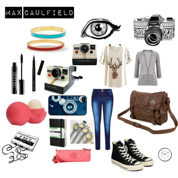 max caulfield by leela-abrams on Polyvore featuring maurices, Converse, VIPARO, Halcyon Days, Kate Spade, BlissfulCASE, Bobbi Brown Cosmetics, Lord & Berry, Eos and Moleskine