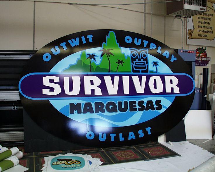 #Survivor Marquesas dimensional sign!