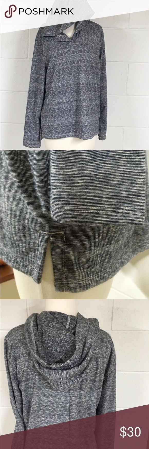 Women's GAP pull over hooded sweatshirt. NWOT, dark blue and white in color (but looks more black in pics-sorry 😬).  No pockets. Warmer material. GAP Tops Sweatshirts & Hoodies