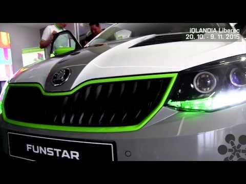Škoda FUNstar k vidění v iQLANDII