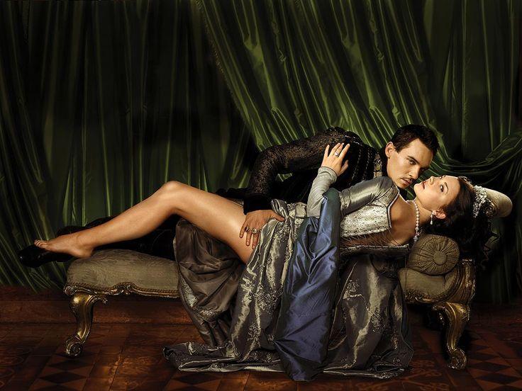 "This is PASSION!  (Jonathan Rhys Meyers ""King Henry Tudor VIII"" & Natalie Dormer ""Anne Boleyn"" from ""The Tudors"")"