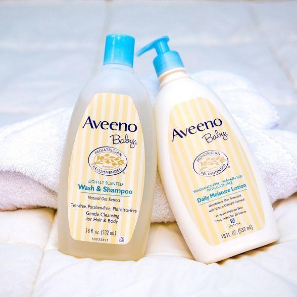 Aveeno Baby Wash And Shampoo 12 Fl Oz Aveeno Baby Baby Wash Baby Body Wash