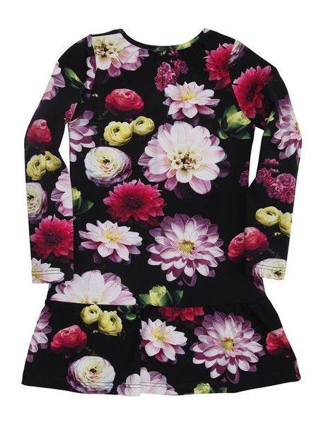 Molo Chanda Black Flowering Dress