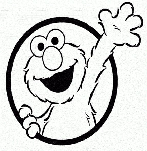 Pin Baby Elmo Coloring Pages On Pinterest