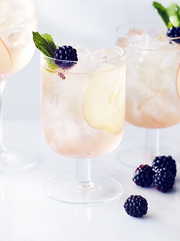 Craft cider is hot right now and it makes a great addition to cocktails like this. Here we've paired it with a seasonal, fuss-free homemade cordial and William's Elegant Gin from Chase that's distilled from Herefordshire cider apples.
