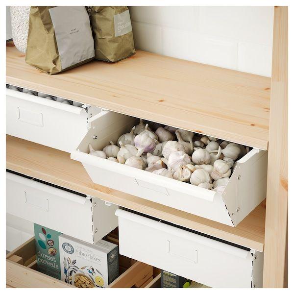 IVAR Cajón, blanco IKEA | Despensa ikea, Ikea, Cajones