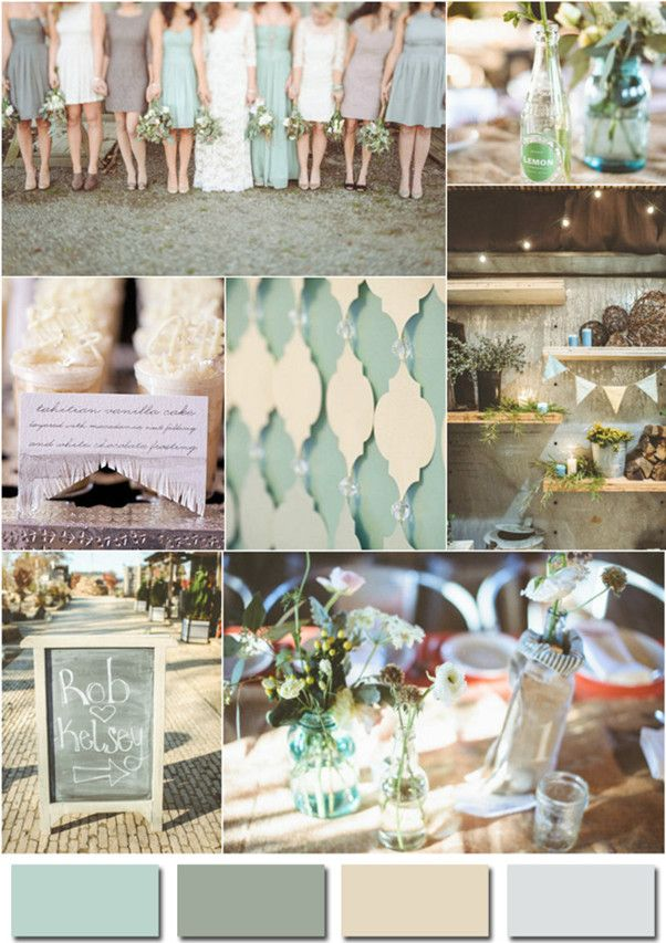 2014 BRIDAL COLORS   Fabulous Wedding Colors-2014 Wedding Trends Part 3   - inspiring ... Visit us for more amazing trends at http://www.brides-book.com
