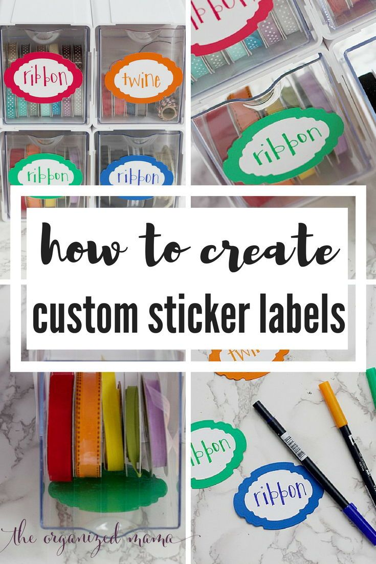 Check out this step by step guide how to make diy projects like these custom sticker labels using items found on scrapbook com like the spellbinders
