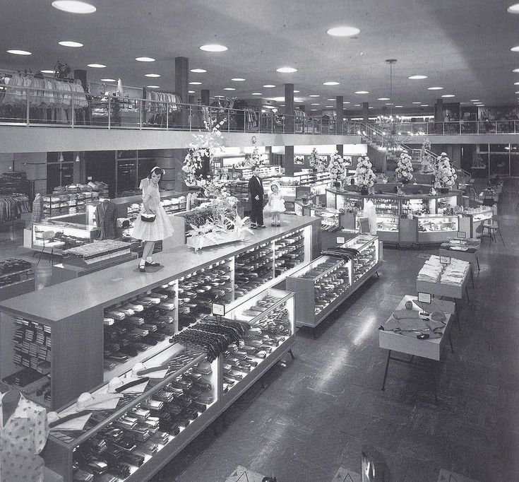 15 Best Images About Vintage Department Stores On