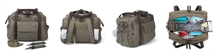 Luiertas - Kaki   Luiertassen   Gras onder je voeten   SoYoung   Diaper bag, Lifestyle bag, verschoningstas