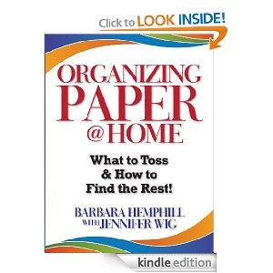 44 best organizing books i like images on pinterest organizing tame the paper and digital clutter with the ebook organizing paper home by barbara hemphill with jennifer wig fandeluxe Image collections