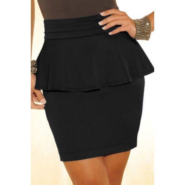 1fcf68b213 Modelos de faldas negras cortas  cortas  faldas  modelos  modelosdeFalda   negras