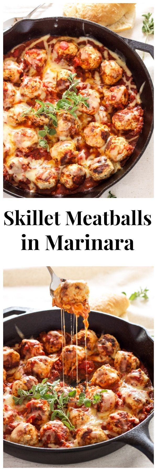 These skillet meatballs in marinara that should win a Nobel Peace Prize. | 21 Life-Affirming Ways To Eat Red Sauce Tonight