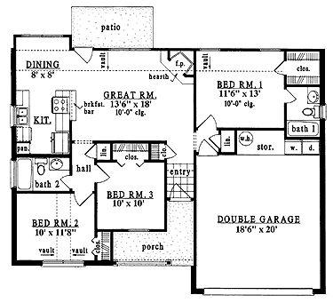 900 Sq Ft Cottage Floor Plans 500 Sq FT Cottage Plans ~ Home Plan ...