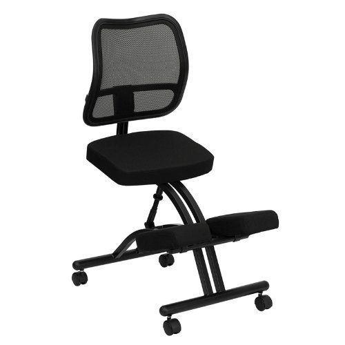 Flash Furniture WL-3520-GG Mobile Ergonomic Kneeling Chair with Black Curved Mesh Back/Fabric Seat Flash Furniture http://www.amazon.com/dp/B003UZ1U6K/ref=cm_sw_r_pi_dp_L4Qpvb0FN7QYR