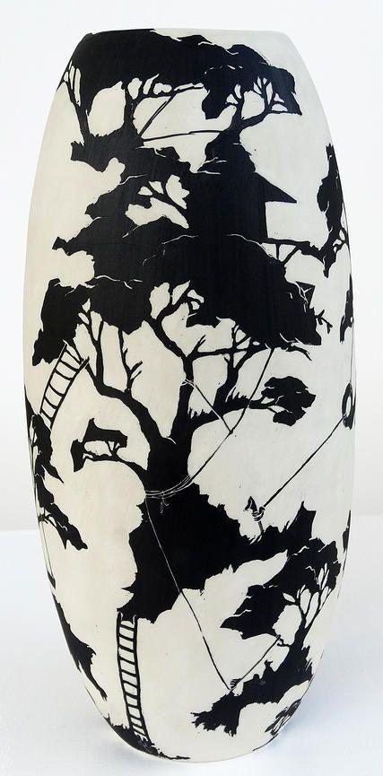 Jessie Pittard -one off ceramic vessels