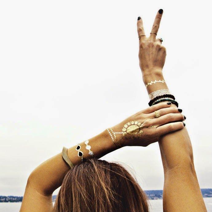 tattoos temporales dorados, tattoo metálico, tendencias ss15, personal shopper mallorca, fashion blogger mallorca, blog zapatos, blog mallorca, tatuajes temporales